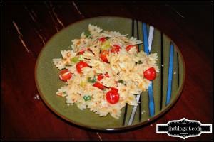 Pasta salad-blog