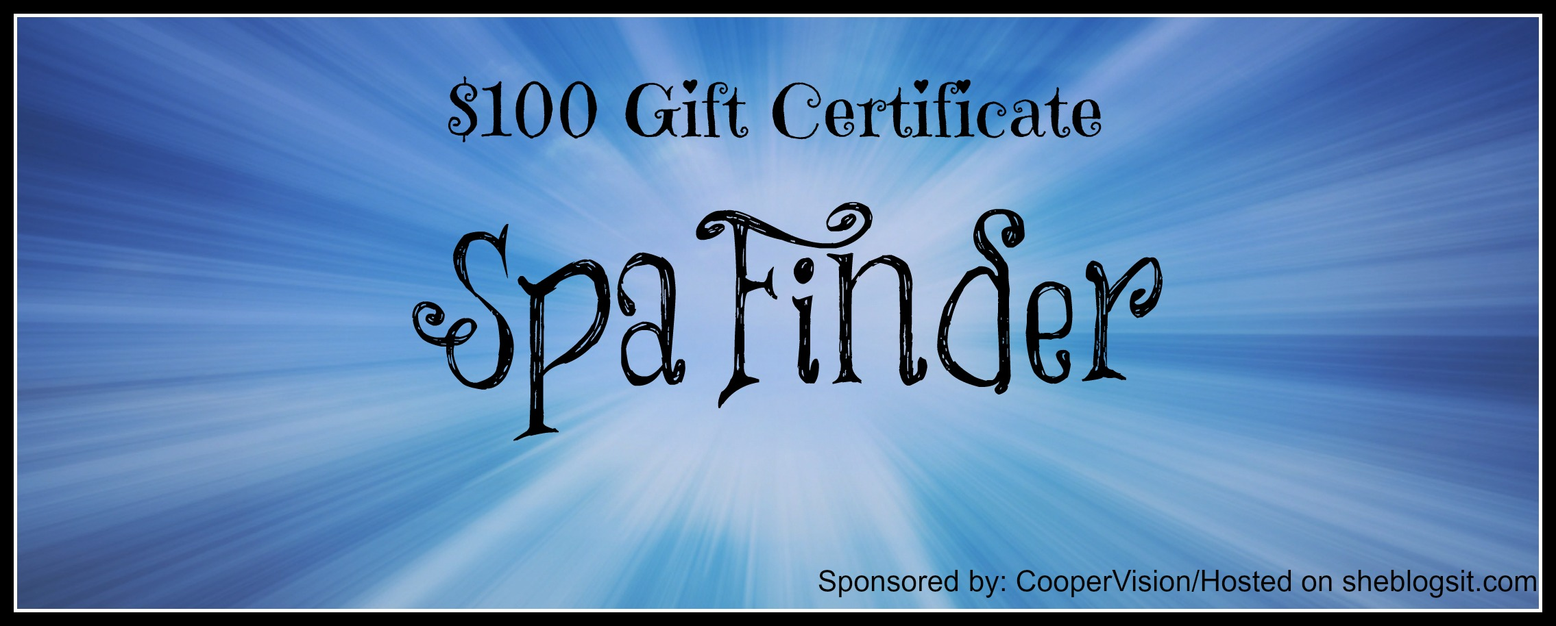 Spa Finder gc