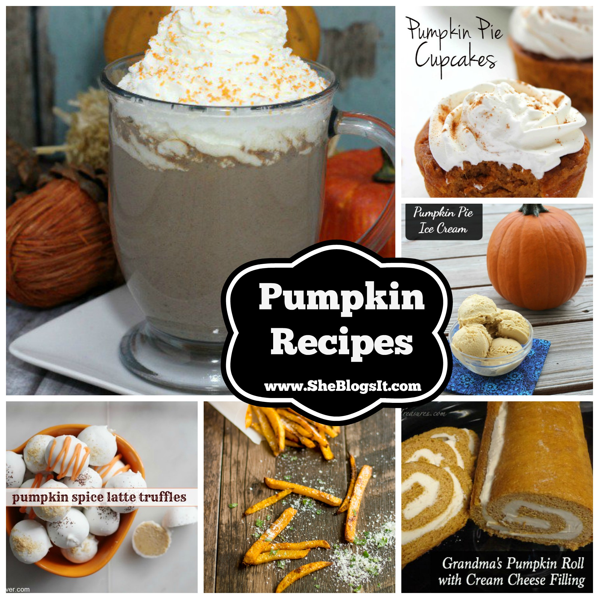Pumpkin recipes- sheblogs