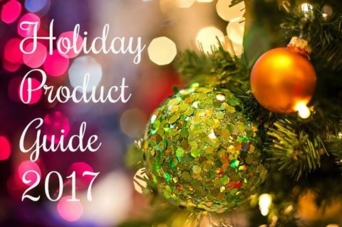 holiday product guide 2017
