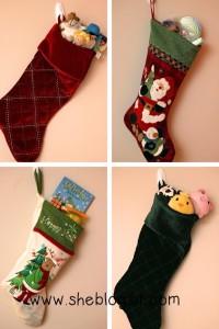 Stocking stuffers collage
