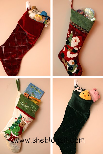 Stocking stuffers collage